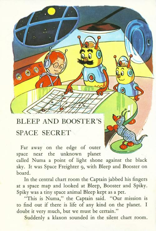 Bleep and Booster's Space Secret