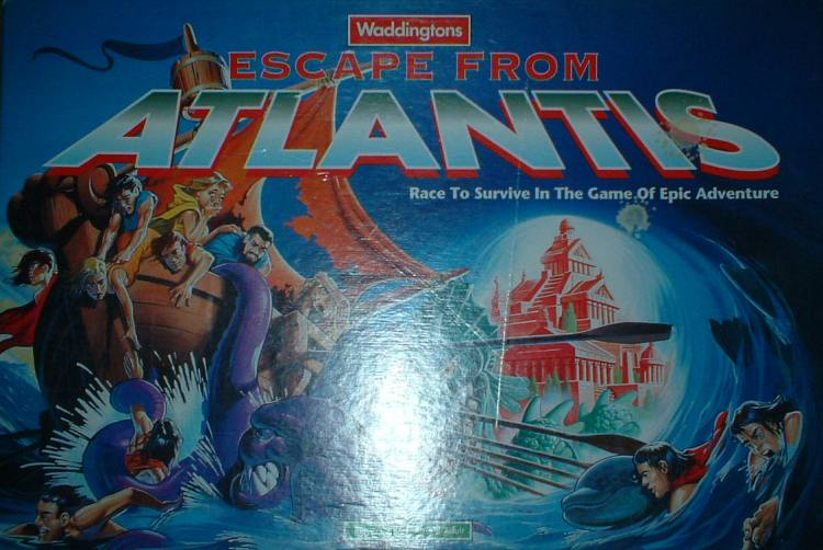 The 1996 Escape from Atlantis Front Cover