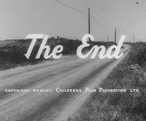 End credits - Children's Film Foundation