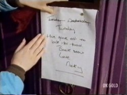 Nicky leaves a note for her parents on the off chance they have any feelings left for her