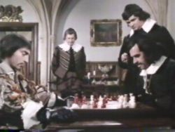 Don Alonso and Mazarin play chess