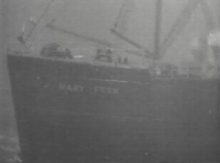 The Mary Fern at sea